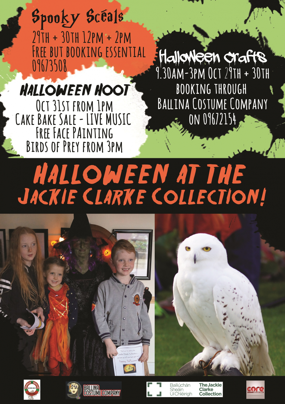 Halloween at the Jackie Clarke Collection